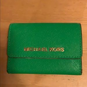 Michael Kors   saffiano leather wallet